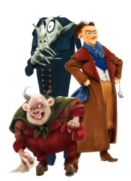 Nosferatu Reanimated - Orlok, Thomas, Knock